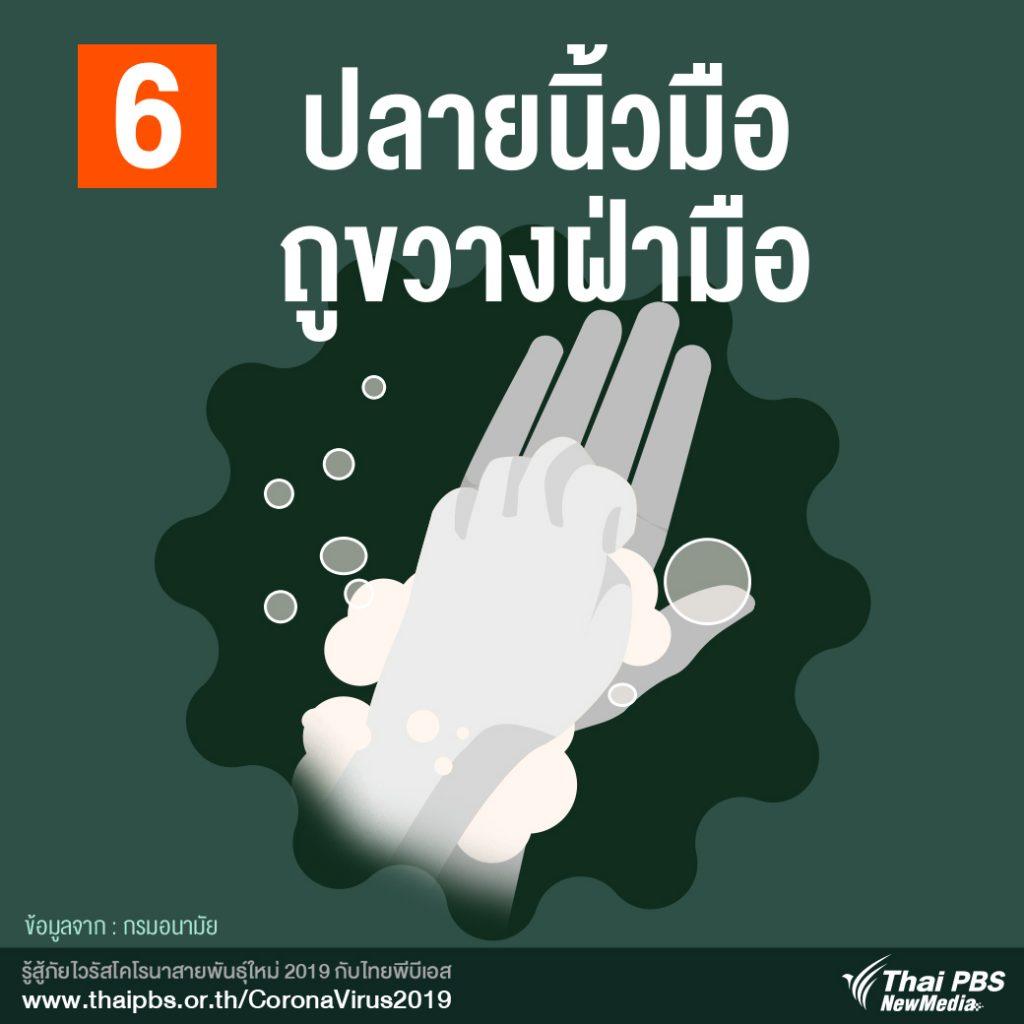 7 วิธีล้างมือ ห่างไกลโรค