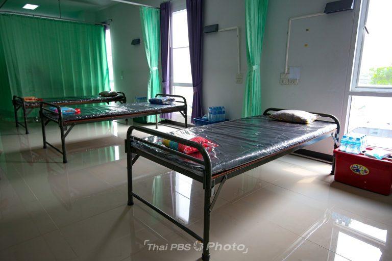 โรงพยาบาลสนาม เขตทวีวัฒนา พร้อมรองรับผู้ป่วยโควิด-19   10 เม.ย. 64