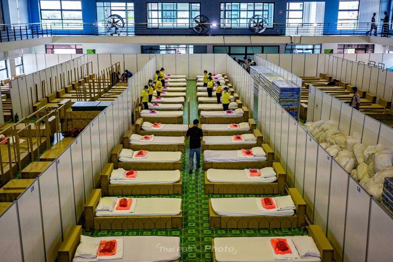 เปลี่ยนอาคารศูนย์กีฬาบางบอน ให้เป็นโรงพยาบาลสนาม 200 เตียง | 12 เม.ย. 64