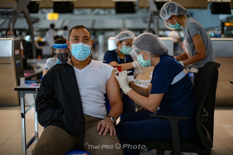 สุวรรณภูมิปรับเคาน์เตอร์เช็กอิน ฉีดวัคซีนโควิด-19 | 28 เม.ย. 64